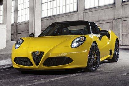 Alfa Romeo 4C Spider 1750 TBi 4C Spider