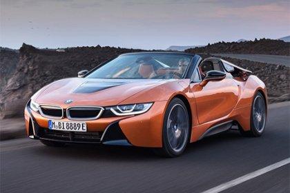 BMW i8 Roadster i8 Sériové provedení