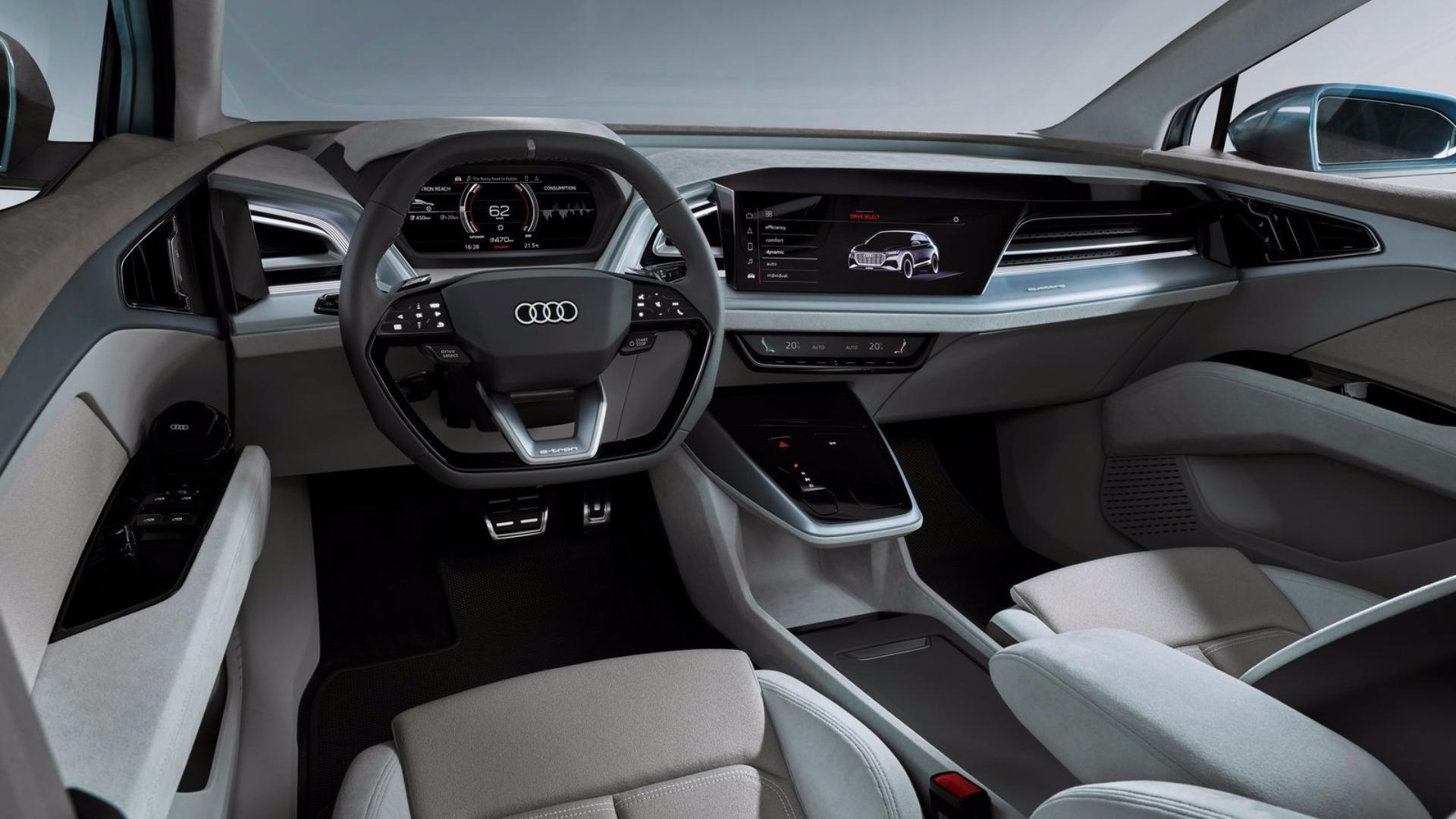 interiér Audi Q4 e-tron